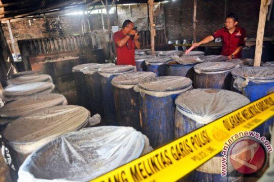 Polisi amankan 1,43 ton miras jenis sopi