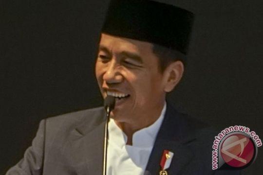 Golkar optimis elektabilitas Jokowi konsisten positif
