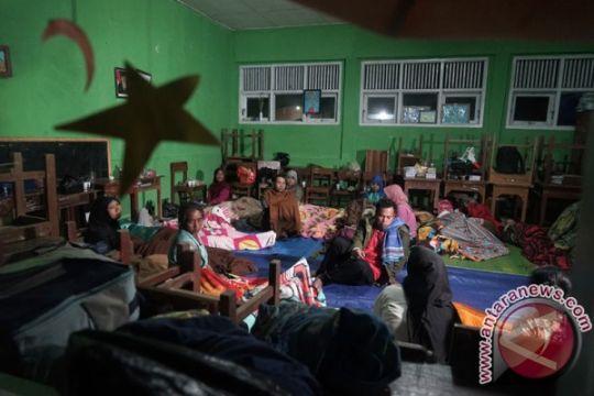 SMPN 2 Banjarnengara tetap gelar UN walau kena gempa