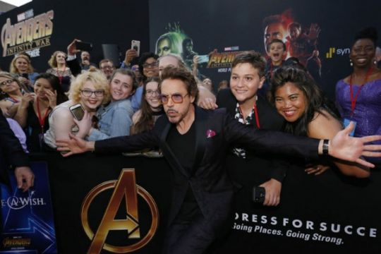 Robert Downey Jr. tolak kampanye Oscar untuk Tony Stark