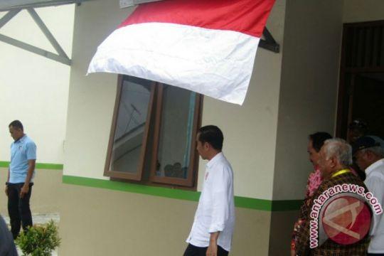 Presiden Jokowi tinjau perumahan nelayan di Pangandaran