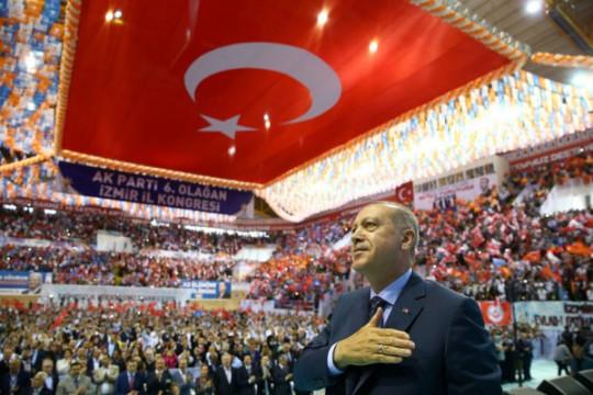 Erdogan: Turki akan tolak sanksi-sanksi Amerika Serikat terkait pendeta