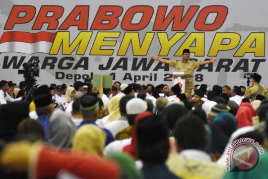 Prabowo menyapa Jawa Barat