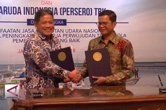 KKP gandeng PT Garuda untuk pacu logistik perikanan