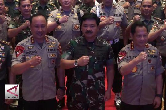 Sinergi TNI-Polri Jaga Keamanan Pilkada dan Asian Games