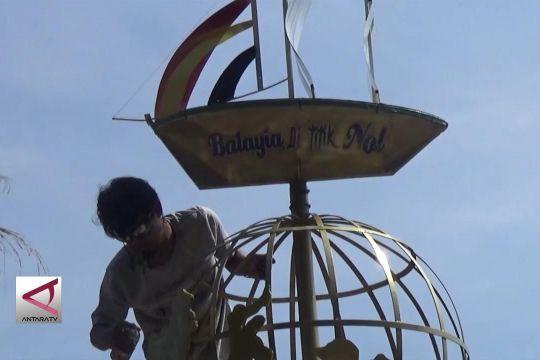 Monumen Khatulistiwa di Pasaman Barat diresmikan