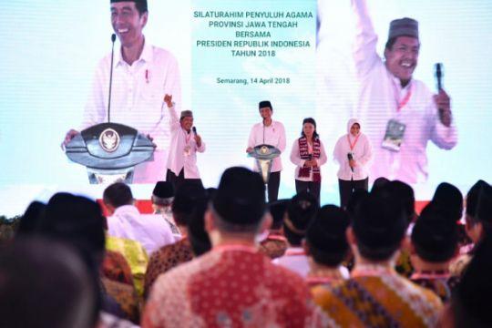 Presiden Jokowi: Penyuluh agama jadi teladan budi pekerti