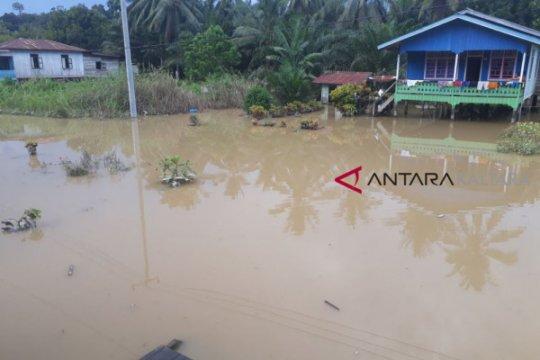 Ribuan warga Sembakung terdampak banjir kiriman dari Malaysia