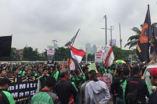 Jelang demo Asian Games 2018, Grab klaim pendapatan ojek justru naik