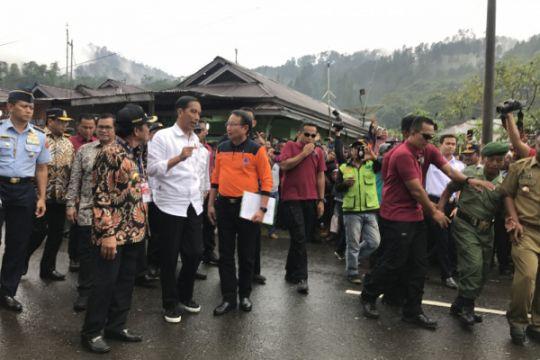 Presiden Jokowi berikan bantuan sewa rumah untuk korban gempa