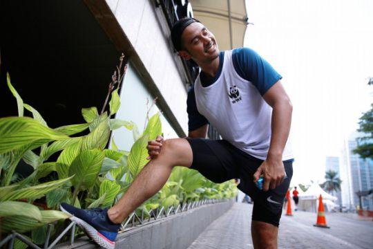 Chicco Jerikho ikut London Marathon demi gajah