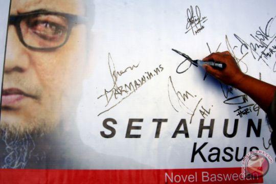 Aksi Setahun Kasus Novel Baswedan