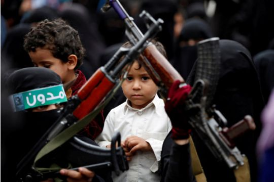 Houthi Yaman nyatakan serang sarana Aramco Saudi dengan pesawat nirawak