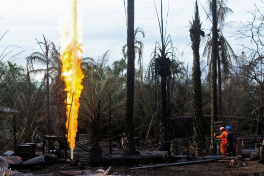 Penanganan ledakan sumur minyak ilegal