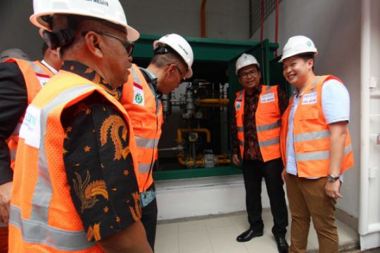 Jaringan gas PGN Medan