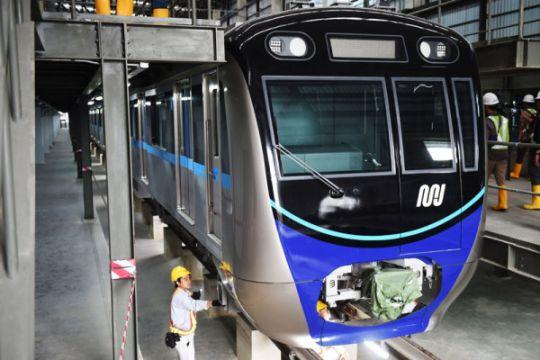 Harapan mengurangi polusi Ibu Kota dengan MRT