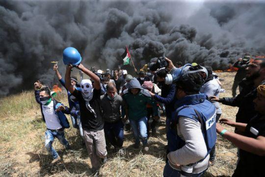 AS salahkan Hamas atas kerusuhan mematikan di perbatasan Gaza