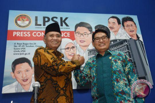 Nota kesepahaman KPK - LPSK