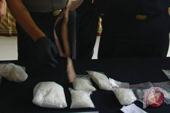 TNI-Polisi Nunukan amankan 500 gram sabu