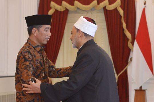 Presiden bertemu Imam Besar Al Azhar