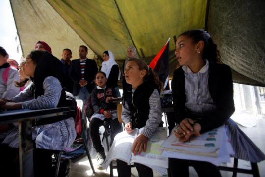 Polisi Israel cegat di Al-Quds bus anak-anak dalam perjalanan lapangan