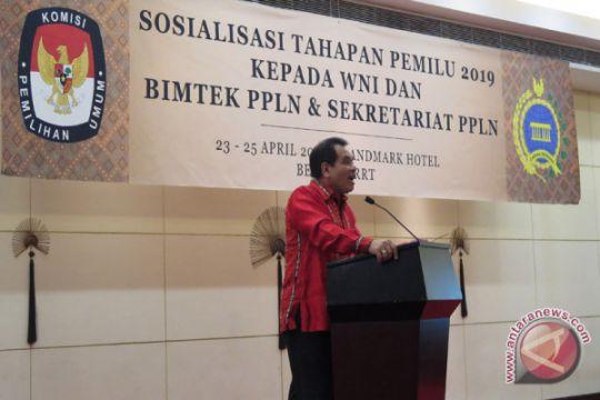 Dubes Djauhari awali penugasan dengan sosialisasi pemilu