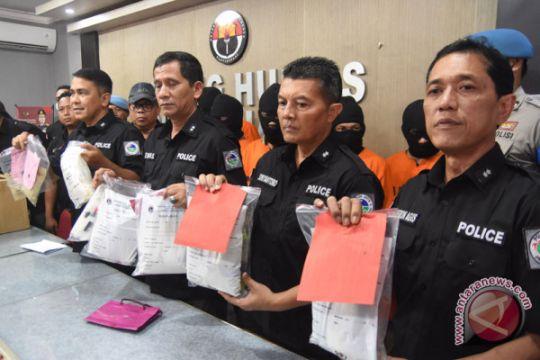Ungkap kasus narkoba Polda Jatim