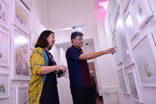 PT Pos Indonesia tarik pengunjung muda lewat Retro/Spektif