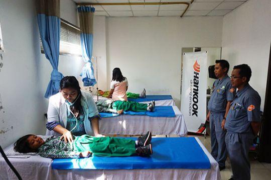 Hankook beri pengobatan gratis untuk 1200 anak di Bekasi