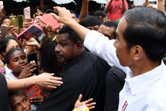 Survei : elektabilitas Jokowi masih tertinggi
