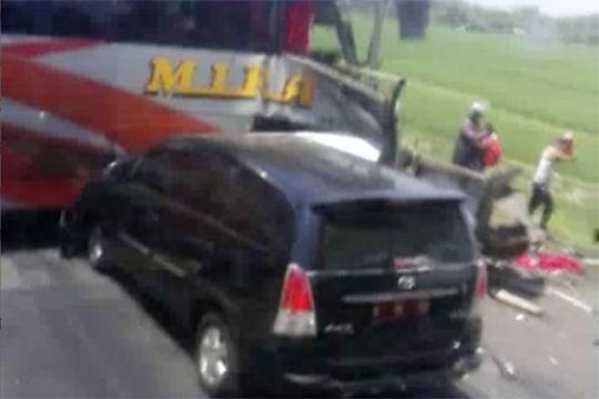 Sekretaris DPRD Malang korban kecelakaan tiga bus di Ngawi