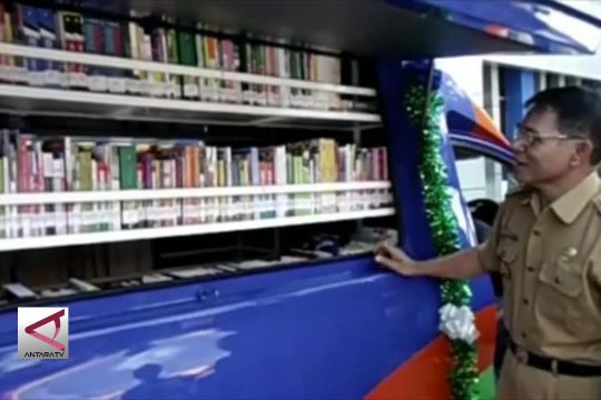 Perpustakaan luncurkan kendaraan baca ke pelosok desa