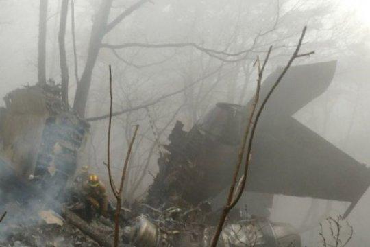 Pesawat berisi bantuan kemanusiaan korban Eta jatuh, 2 orang tewas