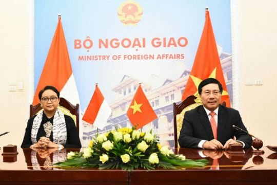 Menlu: Kemitraan strategis RI-Vietnam bukan dokumen tidur