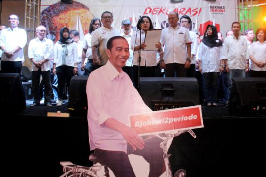 Seknas Sulteng siap menangkan Jokowi di pilpres 2019