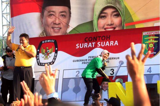 Kampanye Terbuka Pilgub Lampung