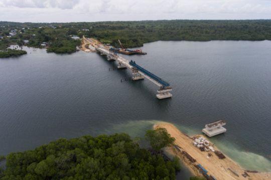 Presiden dijadwalkan resmikan jembatan Wear Arafura