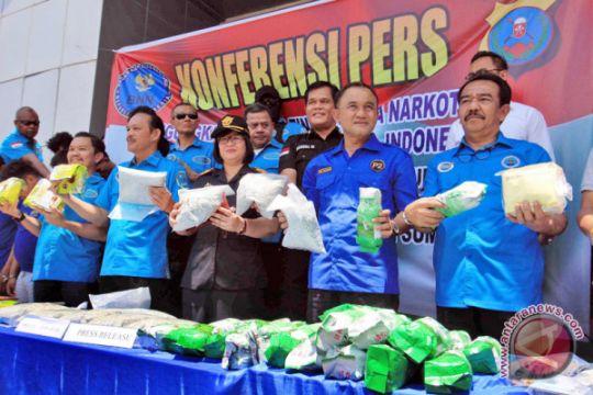 BNN tangkap tujuh pengedar narkoba jaringan internasional