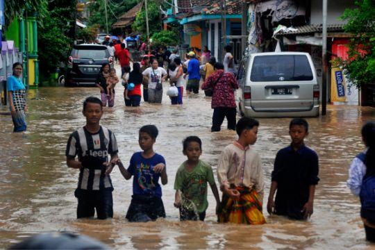 Ratusan rumah warga Cilegon terendam banjir