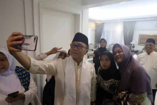 Ketua MPR kampanye tolak politik uang ke organisasi muslimah