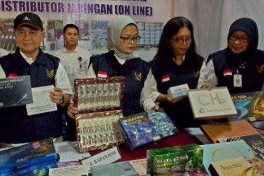 Pengungkapan kasus pendistribusi obat ilegal