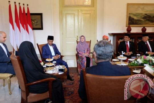 Jokowi bertemu Wapres Iran di Bogor