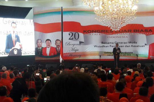 Presiden Jokowi minta parpol ajarkan kedewasaan berdemokrasi