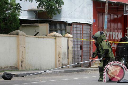 Brimob amankan tas mencurigakan dekat pos polisi Gorontalo
