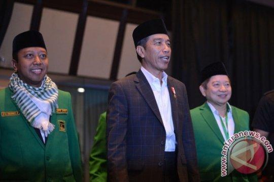 Romahurmuziy deklarasikan relawan Sarung Jokowi
