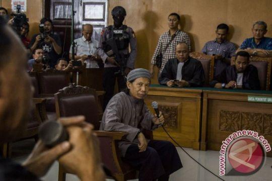 Suara ledakan terdengar saat sidang pledoi Aman Abdurrahman