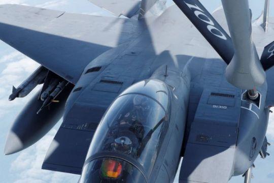 Jet tempur F-15 AS jatuh di Perairan Okinawa Jepang