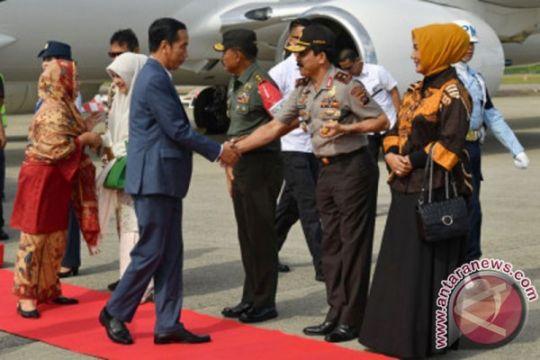 Presiden resmikan KA Bandara Internasional Minangkabau