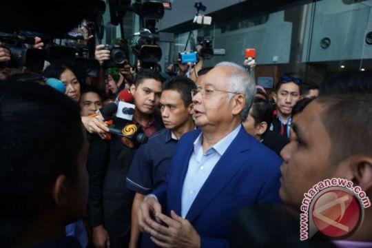 Najib Razak ditangkap