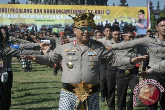 Kapolda Bali tugasi 138 Bintara baru Polri dukung pengamanan Pemilu 2019